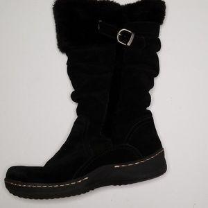 BareTraps Faux Fur lined boots